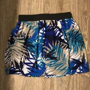 Forever 21 Tropical Mini Skirt